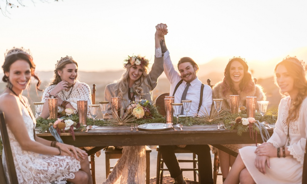 California Bohemian Styled Shoot