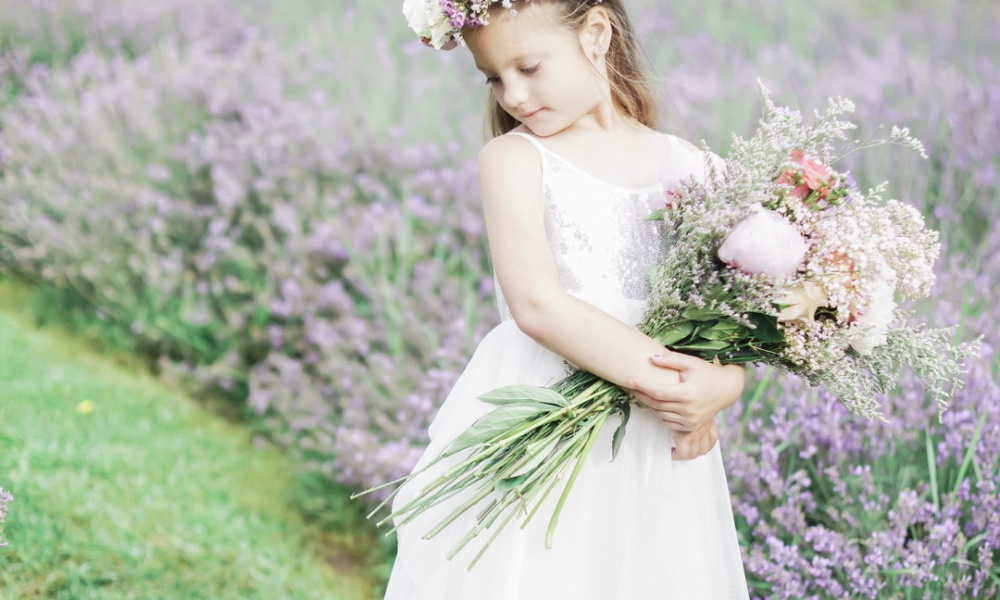Lavender Field Child Portrait