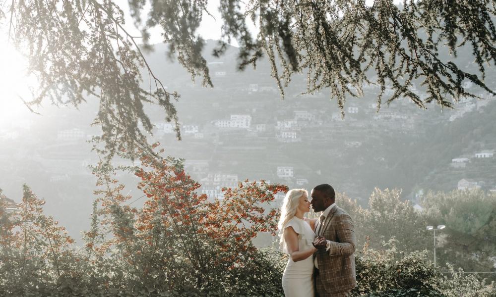 Hillary & Derrick in Ravello, Italy