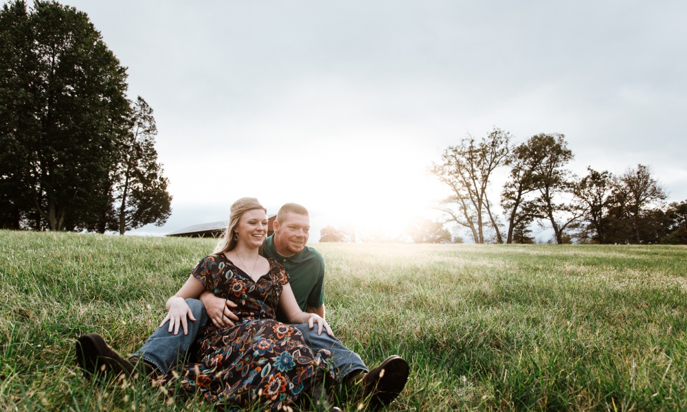 McCombs & Corbett Motorcycle Engagement