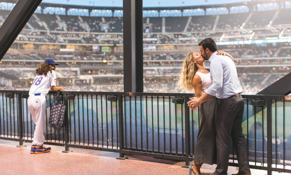 Take Me Out To The Ball Game… Baseball Engagement!
