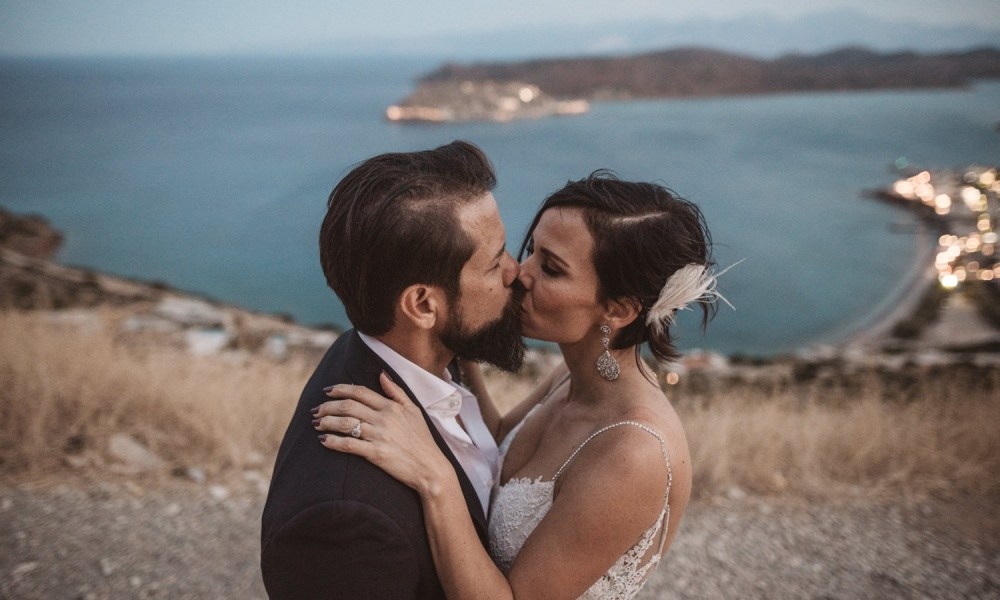 Gorgeous Greece Wedding By The Ocean