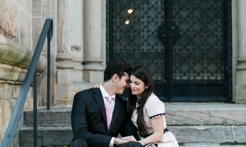 Beauchemin & London Yale Chic and Sophisticated Engagement