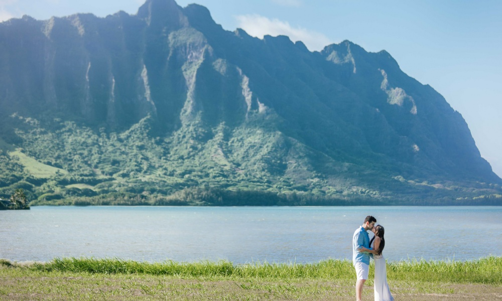 Romantic Outdoor Hawaiian Ranch Wedding