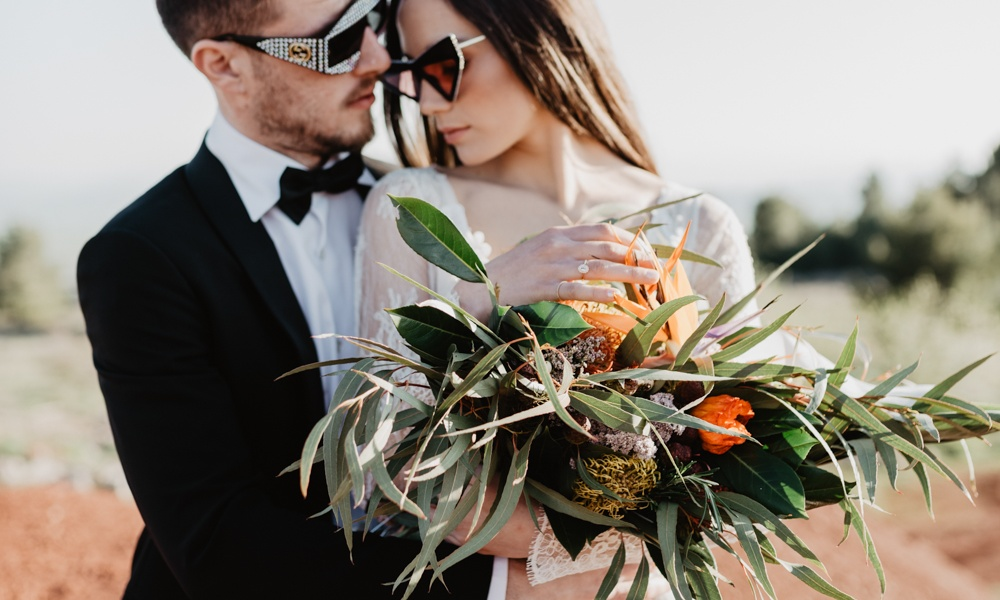 Welcome To Mars, Italian Space Wedding Inspiration