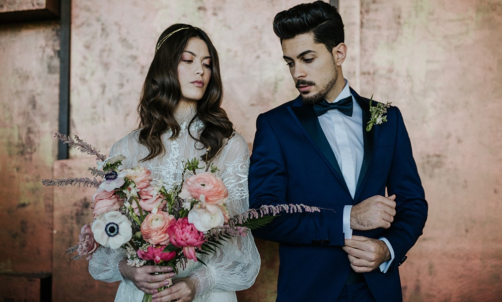 Italian Industrial Wedding Inspiration