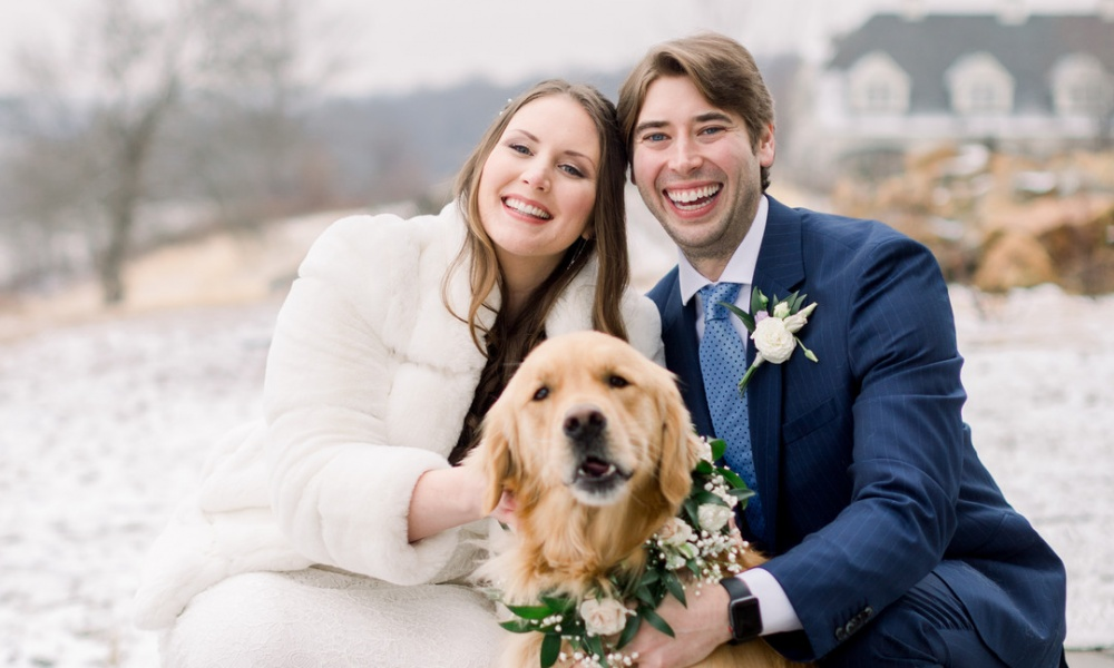 Colette and Corey's Intimate Spring Wedding