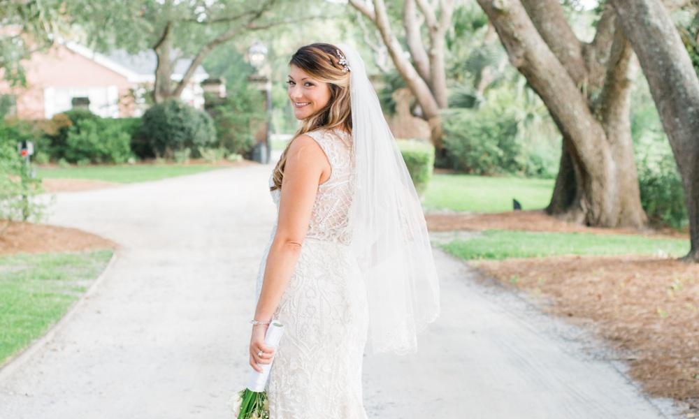 Beautiful Bridal Portraits at Lowndes Grove Plantation
