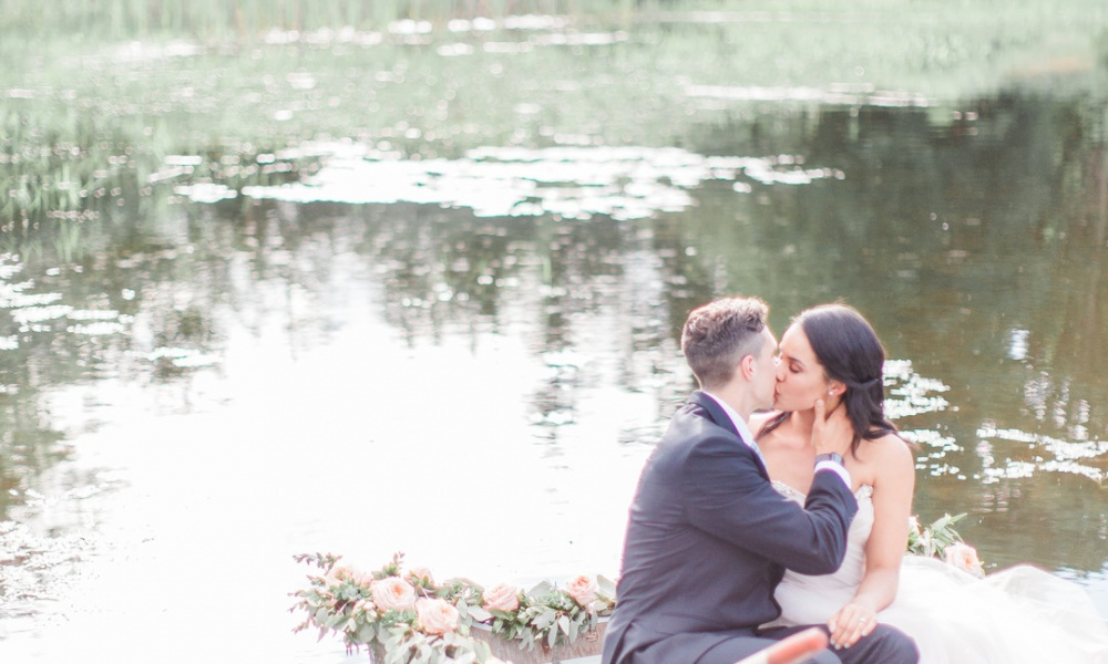 Dreamy Lake Elopement
