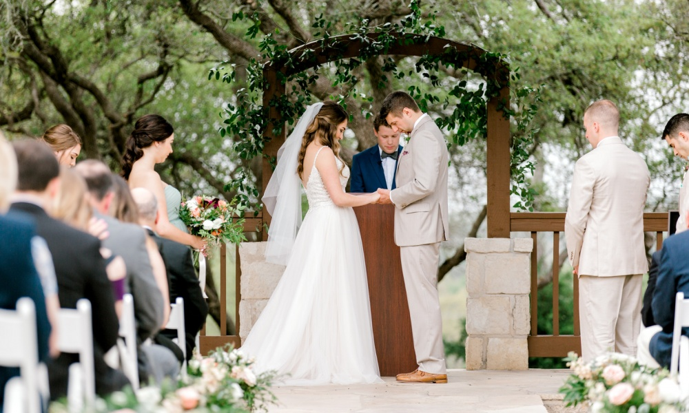 Spring Wedding with a Tuscan/Rustic Blend