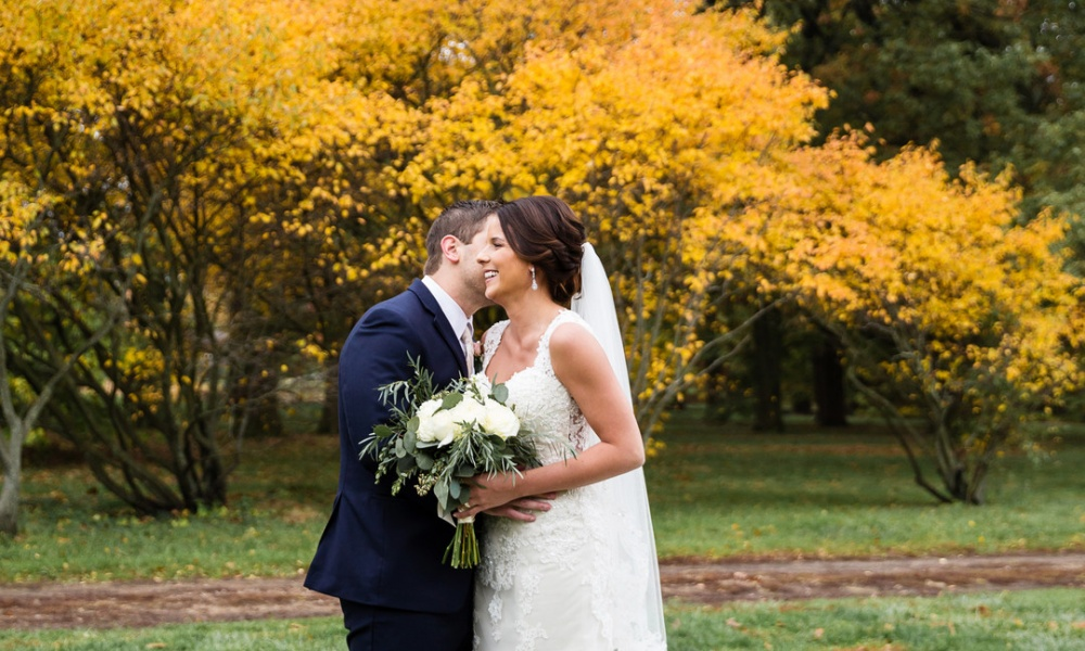 Classic Autumn Wedding in Champaign, Illinois