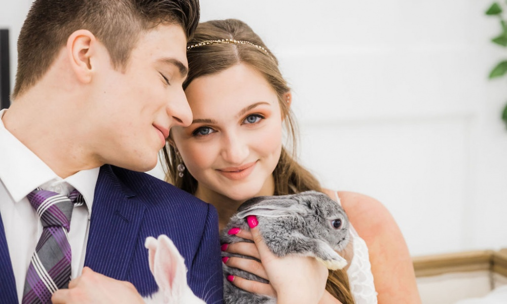 A Bunny-filled Editorial with all the Cuteness!